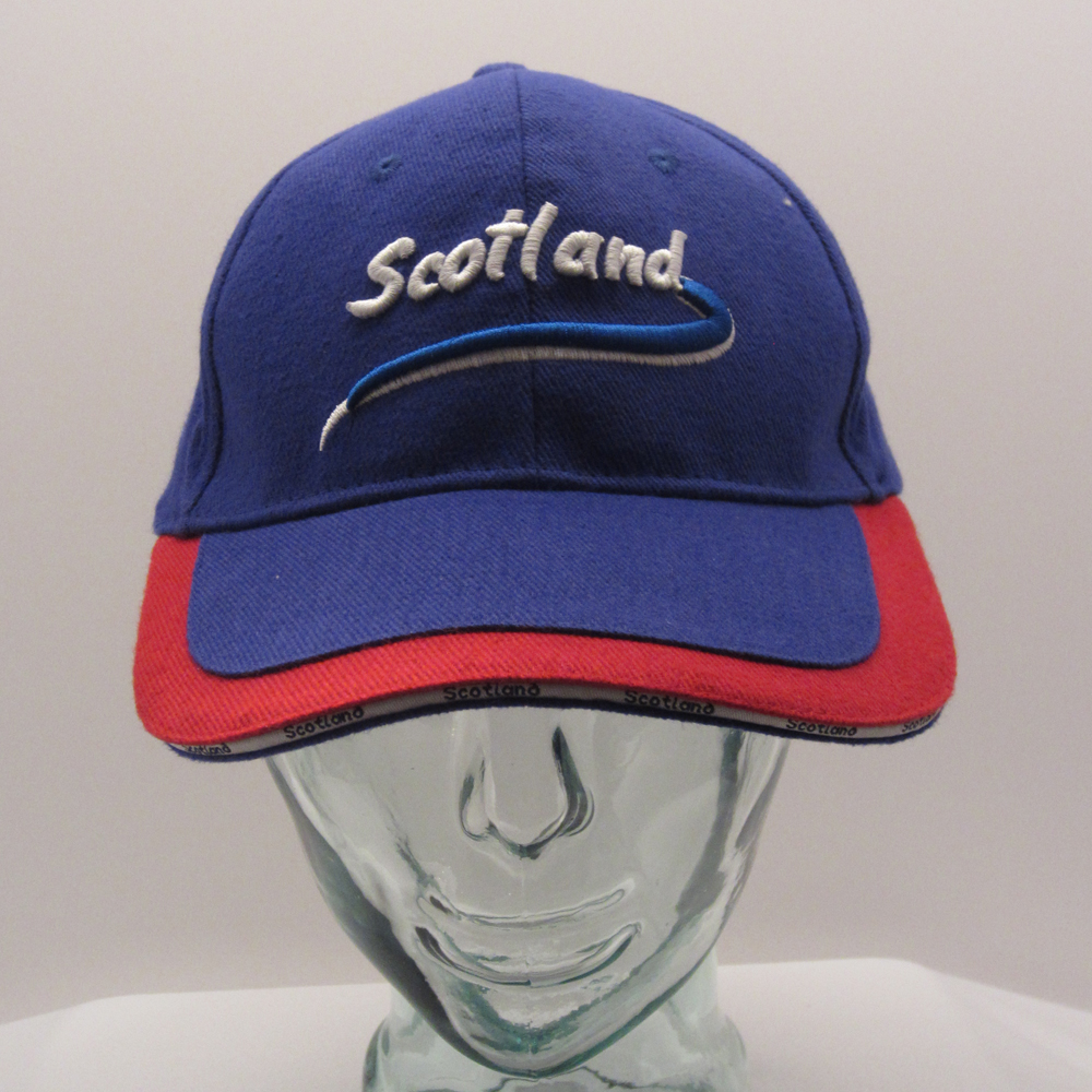 Blue Scotland Cap front