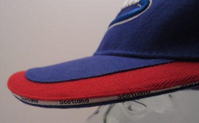 Blue Scotland Cap visor rim