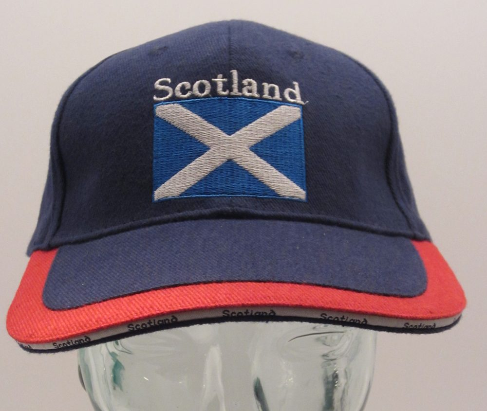 Blue St Andrews Cap front