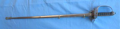 Edward VII British Infantry Dress Sword Full Sword