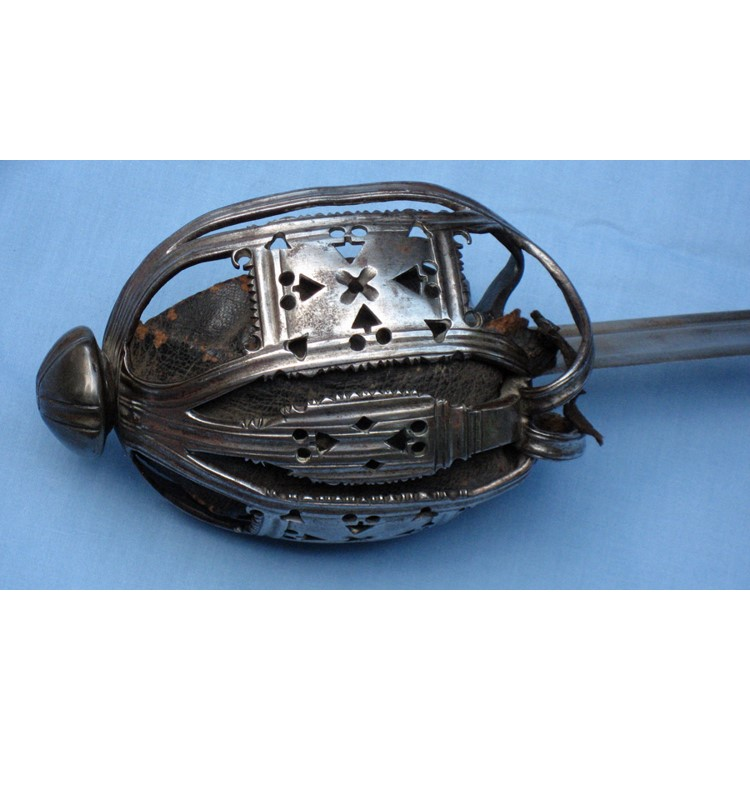 Feature-Scottish Half Basket Hilt-Hilt-Front