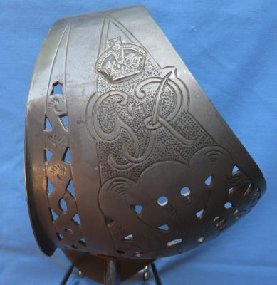George VI Collectible Sword with Sword Pattern 1936-1952 Engraved Hilt