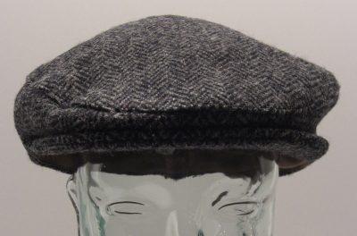 Harris Tweed Charcoal front