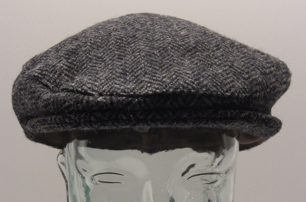 7e0aa7e87bb Harris Tweed Charcoal Cap - Scottish Sword   More