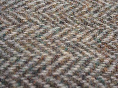 Harris Tweed Heather detail
