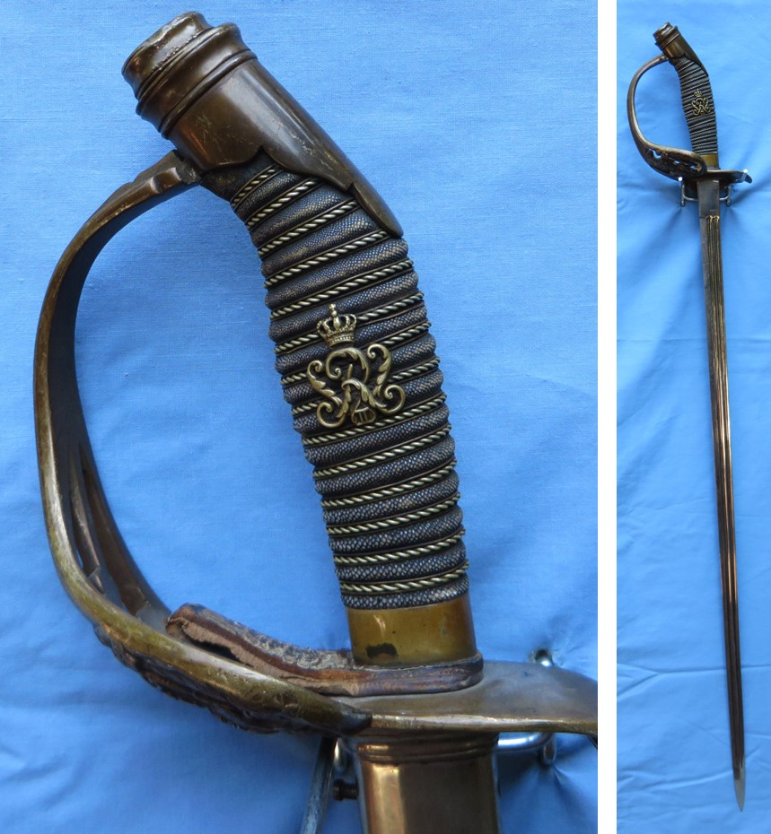 Prussian Model 1889 Infantry Officer Sword Feature