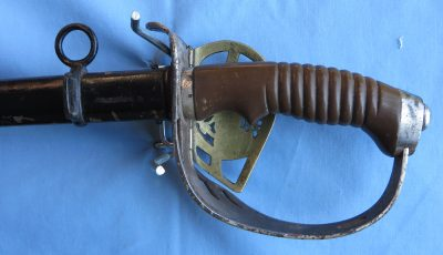 Prussian Model 1889 Troopers Sword Hilt Back