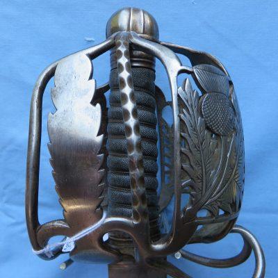 Scottish Basket Hilt Sword 1790 Basket Hilt