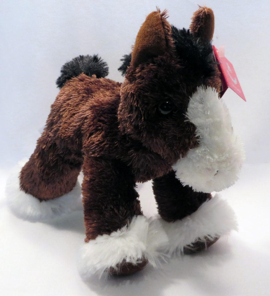 Stuffed Animal Clydesdale front