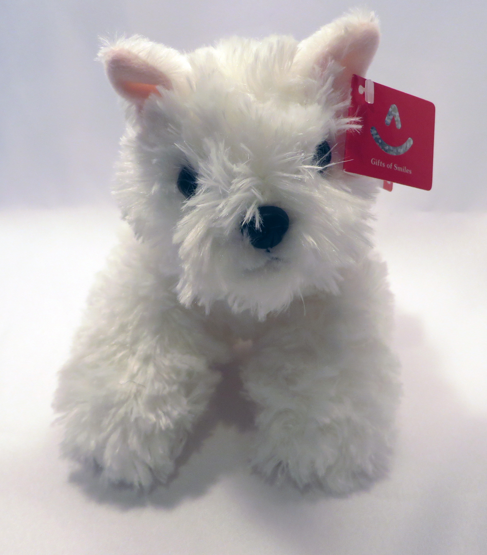 West Highland Terrier Stuffed Animal Scottish Sword More