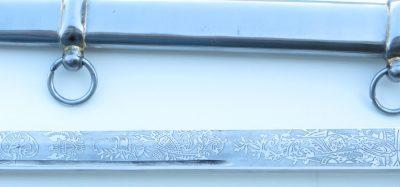 US Civil War sword detail
