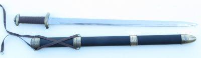 Viking Sword unsheathed