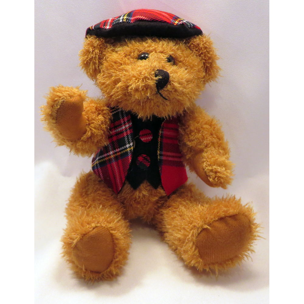 jointed bear seated front