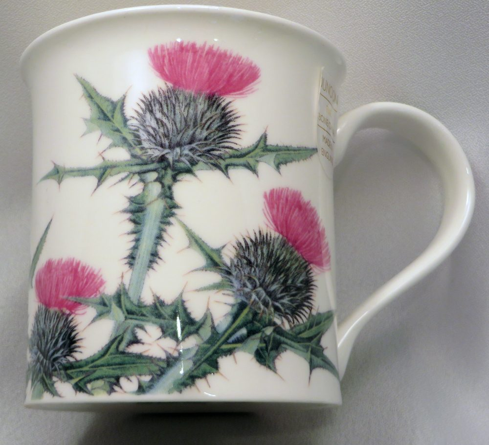 Dunoon Thistle Mug front