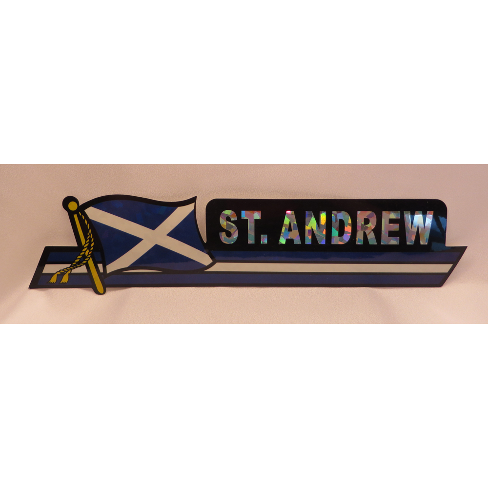 St Andrews bumper sticker