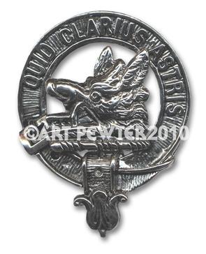 Baillie Clan Crest Badge