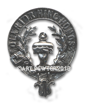 Buchanan Clan Crest Badge
