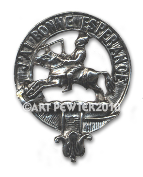 Craig Clan Crest Badge