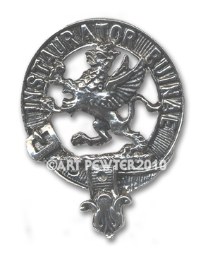 Forsyth Clan Crest Badge