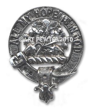 Fraser Clan Crest Badge