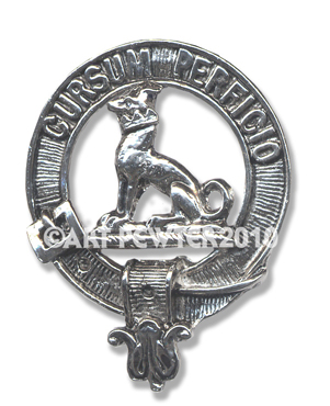 Hunter Clan Crest Badge
