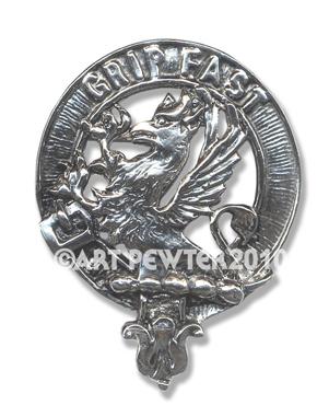 Leslie Clan Crest Badge
