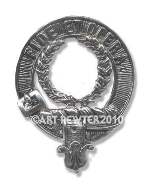 MacArthur Clan Crest Badge