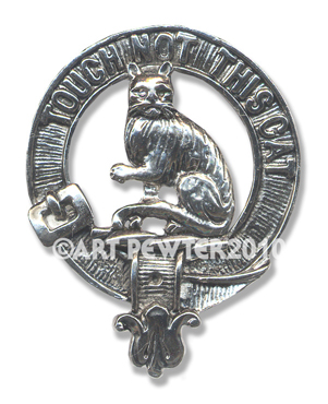 MacGillvray Clan Crest Badge