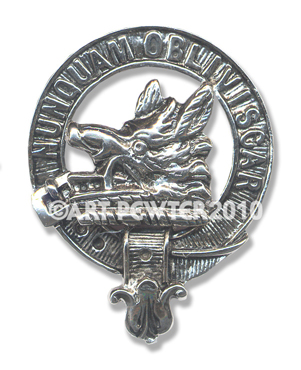 MacIver Clan Crest Badge