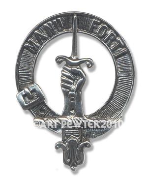 MacKay Clan Crest Badge