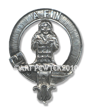 Ogilvie Clan Crest Badge