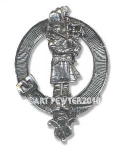 Piper Clan Crest Badge