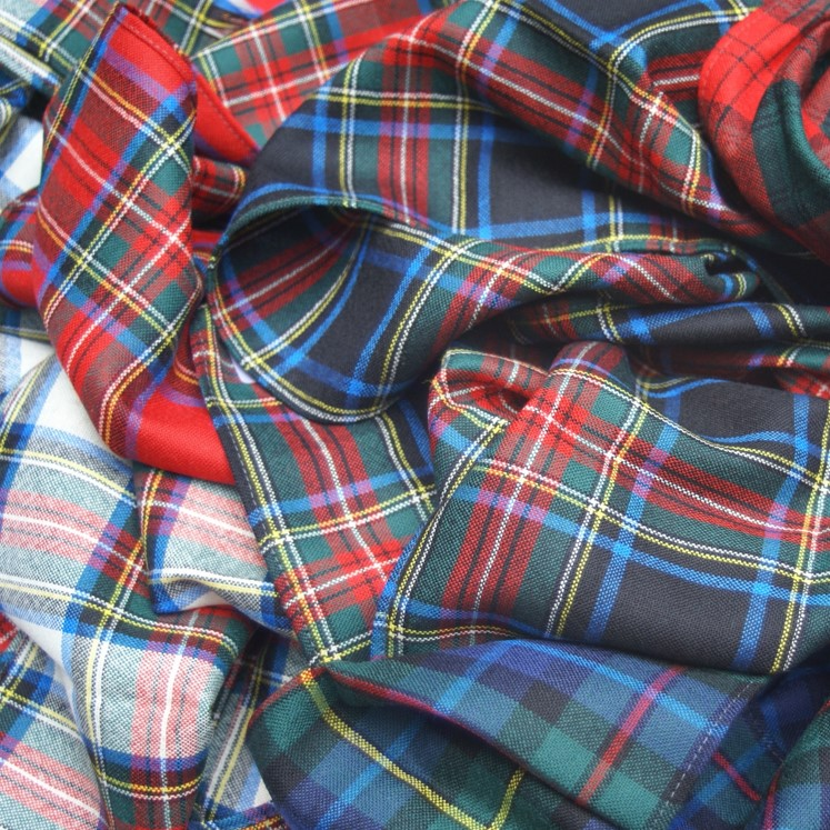 Tartan item - sample scarf and sash