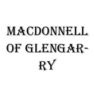 MacDonnell of Glengarry