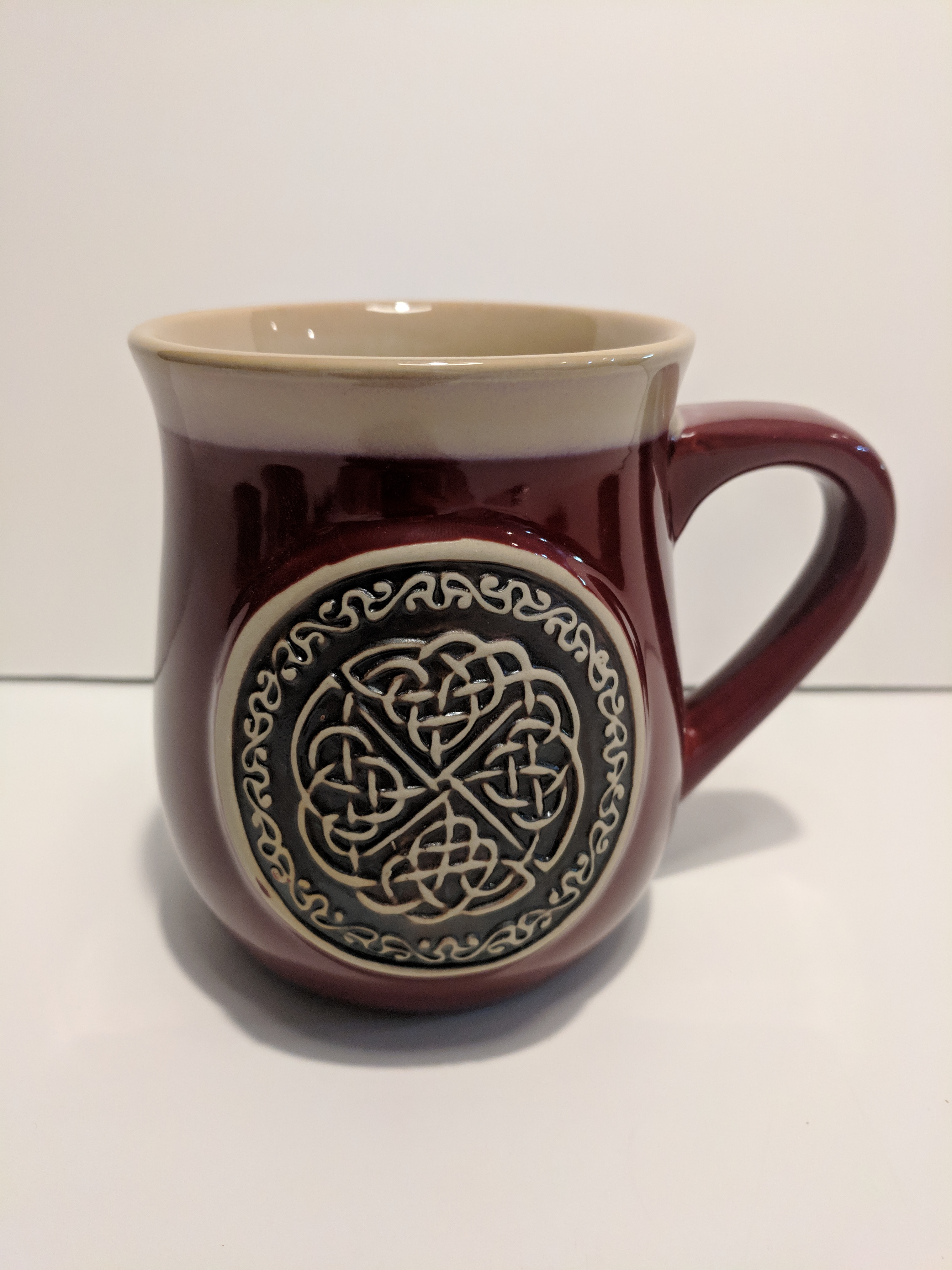 Stoneware Mug Celtic Circle Scottish Sword Amp More